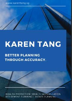 Karen Tang Financial Planner in Singapore Brochure